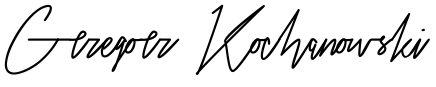 podpis profesora