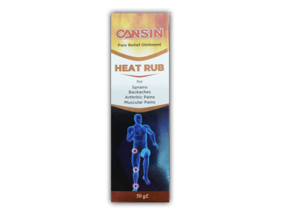 CANSIN - HEAT RUB, 100% Satisfaction Guarantee