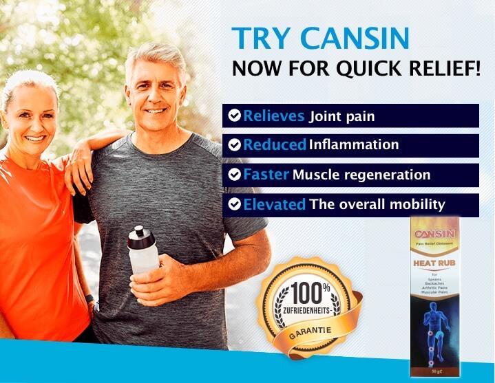 CANSIN - HEAT RUB